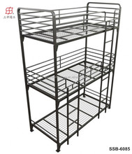 Adult cheap 3 person steal bunk bed