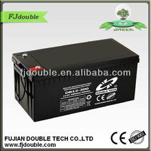 Reliable and Professional 12V200AH Sealed Maintenance Free Batteries for UPS,Solar system, Wind turbine