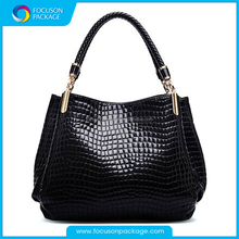 High Quality Stone Texture Fashion Bag, PU leather Bag