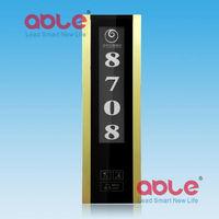 Ultra-thin design Luxury hotel Intelligent Touch Doorbell