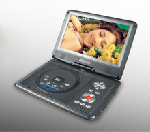Factory cheap 9 inch combo portable dvd player for kids with TV/FM/GAME/USB
