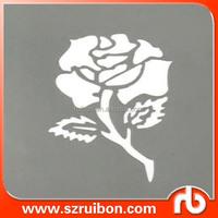 Body art tattoo stencil plastic drawing stencil painting tattoo template stencil