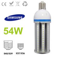 2014 la venta caliente 54w e27 llevó maíz lámpara 4500k para calle / iluminación posterior superior