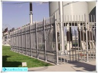 colorful FRP safty fence/flower bed fencing/frp fencing factory