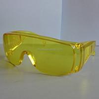 Industry medical ce en166 and ansi z87.1 safety glasses