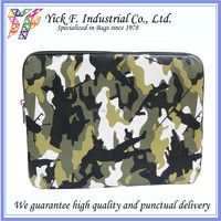 Cool Military Green Camouflage Pattern PU Leather Tablet sleeve / Tablet bag