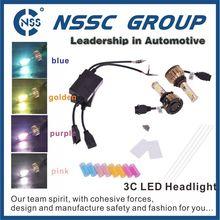 Easily Installation DC 9-16V 2500lm H7 Led Headlight Bulbs, H7 High Power Led Headlights Conversion Kit