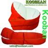 Foldable outdoor bean bag lounge chair, bean bag cheap folding lounge chair, folding beach lounge chair