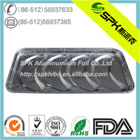 4-compartment Disposable Aluminum foil food container