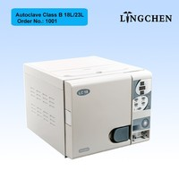 Linchen 18L Dental lab equipment used portable class B Dental Autoclave price
