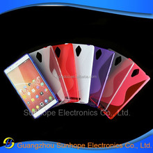 New s line tpu soft Gel skin cover Case For Lenovo K80 K80M