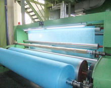 Non-woven fabric processing and production