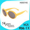 High Quality fashion sunglasses round shaped custom plastic sunglasses