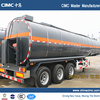 Three Axles Stainless Steel Bitumen Tank Trailer For Sale