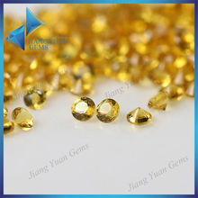 bright yellow small size 1.25mm nano gemstone