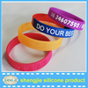 Popular design colorful silicone bracelet with healthy life