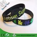 20% de descuento de la conciencia del autismo pulseras de silicona pulseras de goma