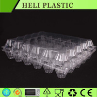 30 cell disposable plastic PVC egg packaging tray