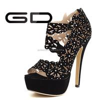cuts out women summer sandals high heel lady shoes fashion wemen peep toe pumps