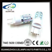 7443 w21/5w car bulb 5630 13smd led brake light