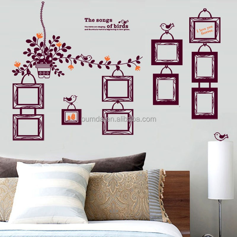 Photo frame decorative wall sticker home decor buy wall sticker home decor 3d wall stickers - Decorative wall sticker ...
