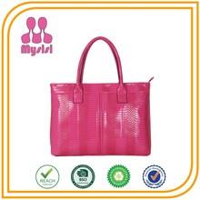 Wholesale New Women/Ladies Crocodile Leather Handbag Famous Authentic Designer Handbag 2014
