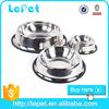Christmas sales wholesale low price metal dog pet feeder stainless steel pet dog bowl