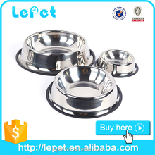 Christmas sales wholesale low price metal dog pet feeder stainless steel pet dog bowl