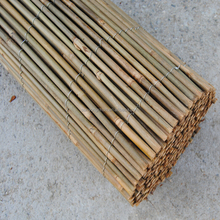 nature eco-friendly woven bamboo pole fence
