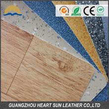 wood look rubber flooring, pvc adhesive vinyl leather