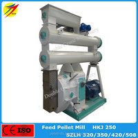 Hot sale high efficient pellet machine for animal with low cost