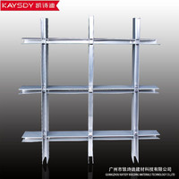 grayness Grid Aluminium Ceiling For Architectural Ceiling System