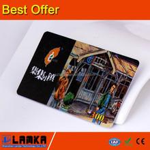 Pvc con CMYK impresión <span class=keywords><strong>de</strong></span> compras cash card