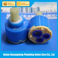 Plastic 40mm Flat turning Single-seal Faucet Cartridge