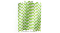 6*197mm Eco friendly decoration home Paper straws