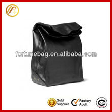 High quality leather lunch bag for men