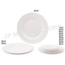 LFGB Passed Unbreakable 100% Melamine Round Plastic Plate