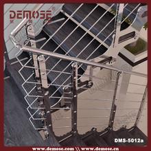 barandas para escaleras hierro forjado, barandilla de acero inoxidable