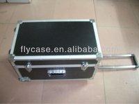 Hard case trolley bags,aluminum travel empty tool cases,aluminum tool trolley case