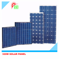 Best quality Taiwan cell mono solar panels 320w