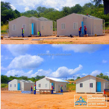 new design luxury one bed room house modular prefabricated hotel