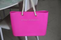 summer necessary silicone rubber beach bag