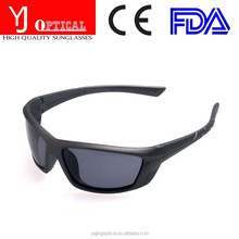 sports sunglasses Simple Style tr90 black frame polarized sunglasses high quality brand designer