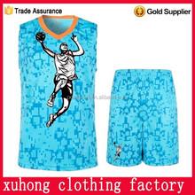 custom sublimation basketball uniform dri fit sets