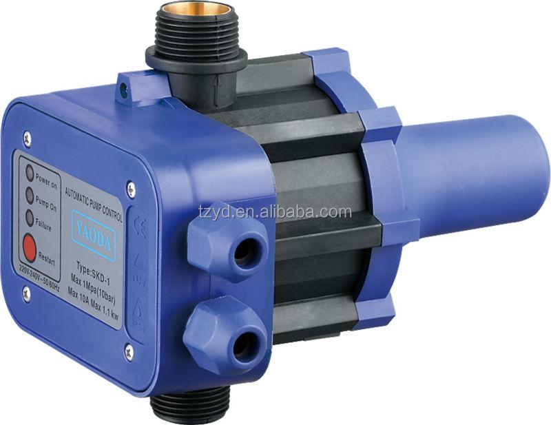 pressure control for water pump