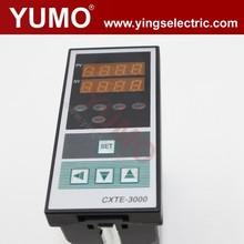 CXTE 3000 Series 96*48 J type relay Temperature Controllers SSR output 220V digital refrigerator temperature controller