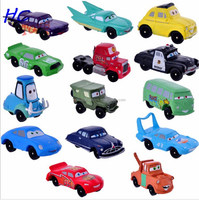 Animation Film and Television Series 14pcs Cool Fashion Toys Cars Grand Prix