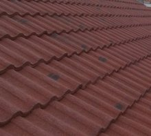 Lightweight Roof Tile Effect System