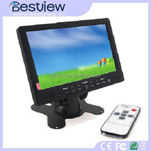 Portable game monitor 7 inches tft lcd color monitor