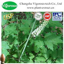 100% pure natural 7:1&2.5%,5% triterpene glycosides (Cimicifuga foetida L)Black Cohosh Extract